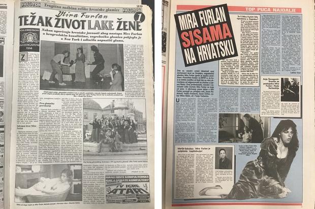 Prvi nastavak Globusovog feljtona iz siječnja 1992. i tjednik Top iz studenoga 1991.